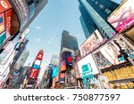 new york   december 22  2013 ... | Shutterstock . vector #750877597