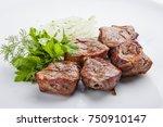 Shish Kebab From Pork...
