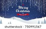 winter mountain landscape...   Shutterstock .eps vector #750991567