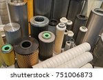 industrial air filters | Shutterstock . vector #751006873