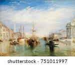 venice  from the porch of...   Shutterstock . vector #751011997