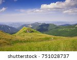 Small photo of Panorama from Italy Mountain