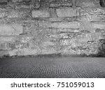 grunge room background | Shutterstock . vector #751059013