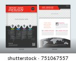 covers design with space for... | Shutterstock .eps vector #751067557