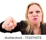 bossy woman   Shutterstock . vector #751074373