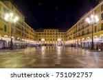 Placa Major Square At Night ...