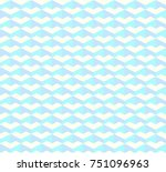 isometric colorful tile scale... | Shutterstock .eps vector #751096963