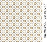 seamless vector japanese... | Shutterstock .eps vector #751107727