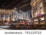 london  7th november  2017   ... | Shutterstock . vector #751123723