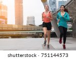 healthy training concept  ... | Shutterstock . vector #751144573