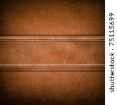 leather background | Shutterstock . vector #75115699
