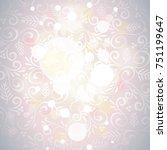 grey soft focus winter vector... | Shutterstock .eps vector #751199647