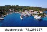 croatian islands   Shutterstock . vector #751299157
