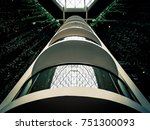 abstract building interior of... | Shutterstock . vector #751300093