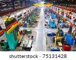 industry factory iron works... | Shutterstock . vector #75131428