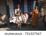 pushkar   india 27 october 2017 ... | Shutterstock . vector #751327567