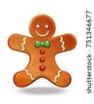 Gingerbread Man. Christmas...