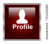profile picture icon isolated   Shutterstock . vector #751434283
