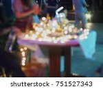blurry and defocus light in... | Shutterstock . vector #751527343