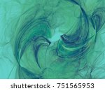 monochrome abstract fractal... | Shutterstock . vector #751565953