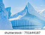 Antarctic Icebergs And Majesti...