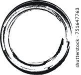 vector circle shape . circle... | Shutterstock .eps vector #751647763