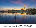 fantastic view during sunset of ...   Shutterstock . vector #751656643