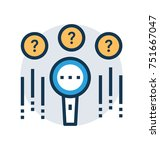 unknown search or searching...   Shutterstock .eps vector #751667047