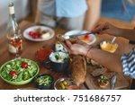tasty food   Shutterstock . vector #751686757