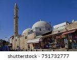 jaffa  israel  october 16  2017 ... | Shutterstock . vector #751732777