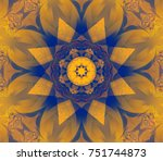 abstract decorative colored...   Shutterstock . vector #751744873