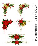 christmas elements for your... | Shutterstock .eps vector #751747327