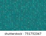 beautiful geometric pattern... | Shutterstock .eps vector #751752367