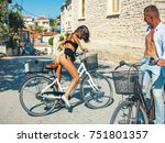 sensual couple during hot and...   Shutterstock . vector #751801357