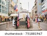 berlin  october 1  2017 ...   Shutterstock . vector #751881967