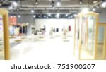 modern clothing store display... | Shutterstock . vector #751900207