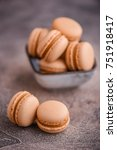 Small photo of French caramel macarons