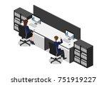 isometric 3d illustration... | Shutterstock . vector #751919227
