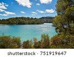 beautiful view of national park ... | Shutterstock . vector #751919647