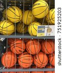 Small photo of Kuala Lumpur, Malaysia - Nov 8, 2017 : Sport articles for sale at Decathlon store in Damansara. Decathlon is a chain of store opened in France in 1976 and one the world's leading sporting goods.