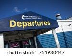 entrance to departure building... | Shutterstock . vector #751930447
