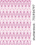 seamless wavy lines pattern...   Shutterstock .eps vector #751934797