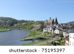 Saarburg, Germany - stock photo