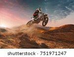 motocross | Shutterstock . vector #751971247