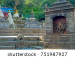 kathmandu  nepal october 15 ...   Shutterstock . vector #751987927