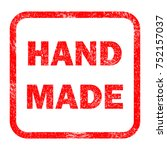 grunge rubber stamp with text... | Shutterstock . vector #752157037