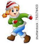 vector illustration of cartoon...   Shutterstock .eps vector #752176423