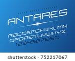 antares futuristic vector... | Shutterstock .eps vector #752217067