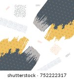 japanese pattern vector with... | Shutterstock .eps vector #752222317