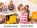 interesting lesson modeling | Shutterstock . vector #752257897